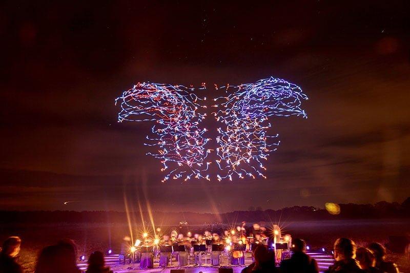 Drone 100 Light-Show