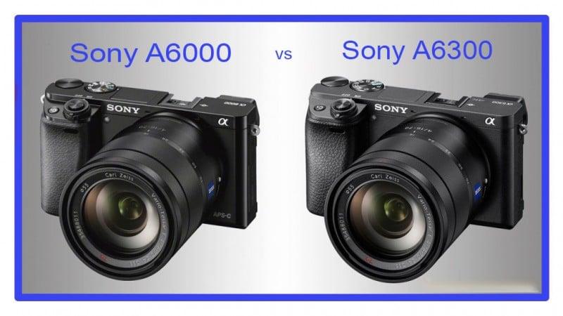 sony a6000 vs a6300