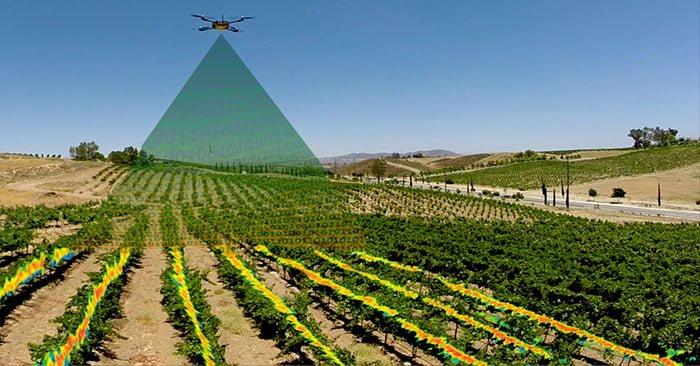 γεωργία drones