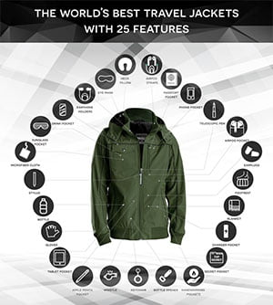 World Best travel jacket